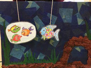 El Pez Arcoiris de Marcus Pfister.       Arcoiris es el pez más hermoso del océano, con sus preciosas escamas de mil colores. Pero a p...