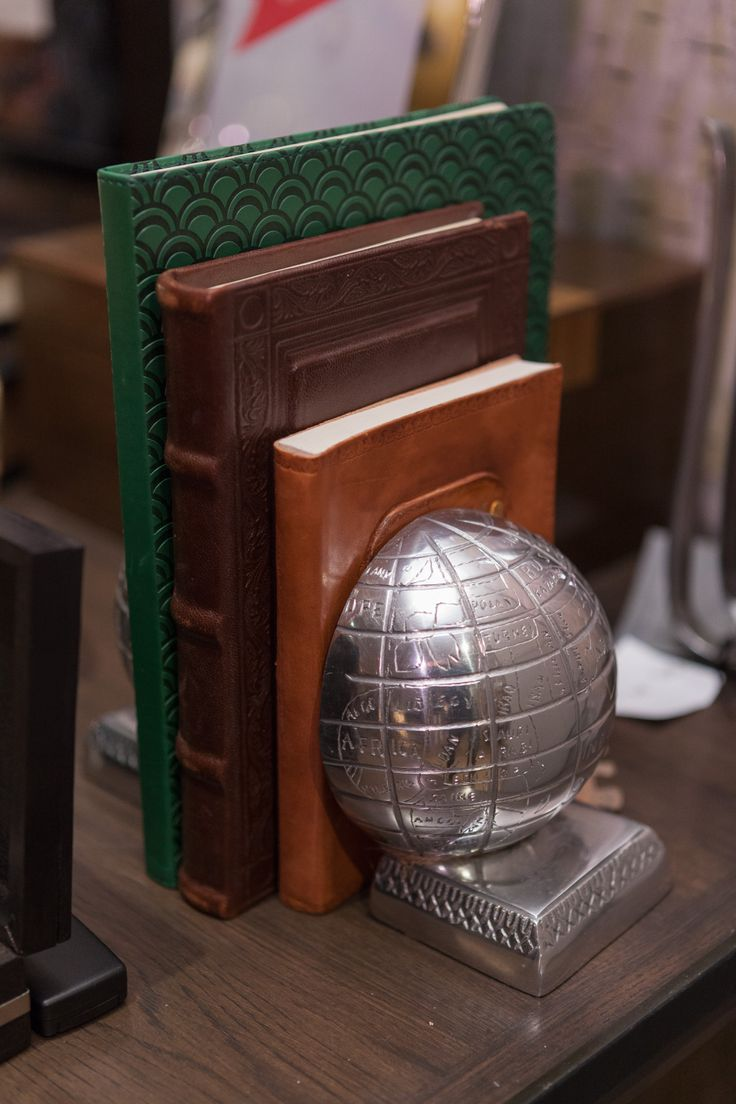 Non traditional bookends are a fun and useful gift for the book worms in your life! #TheGifter