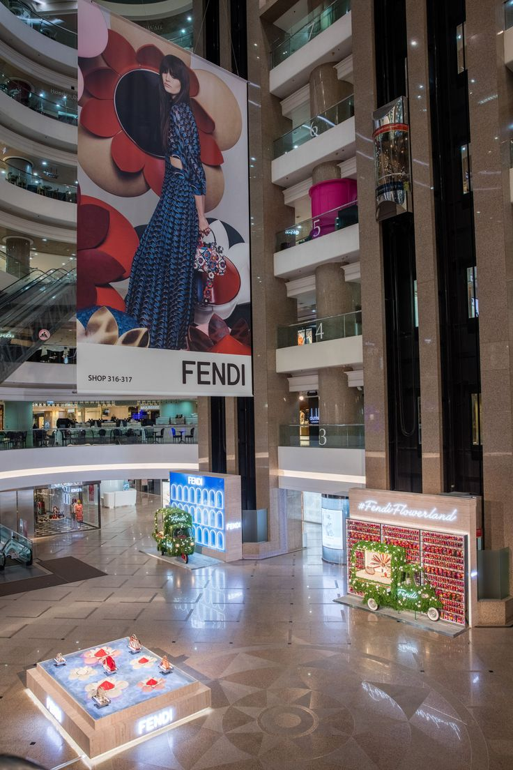 Check Out The Opening Event Of Our NEW Whimsical Imaginative Fendi Flowerland Pop Up Shop At Hong Kongs Times Square Shopping Center