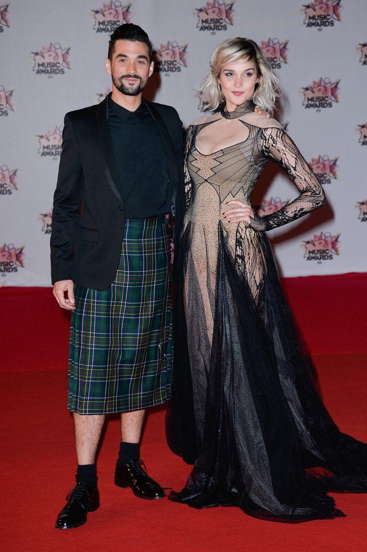 Pin for Later: Stars Françaises et Stars Internationales Se Mélangent Lors des NRJ Music Awards Florent Mothe et Camille Lou