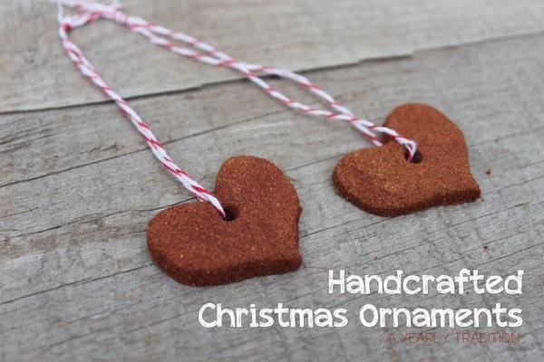 Homemade Christmas Ornaments Dough Cinnamon : Handcrafted cinnamon dough ornaments holiday ideas