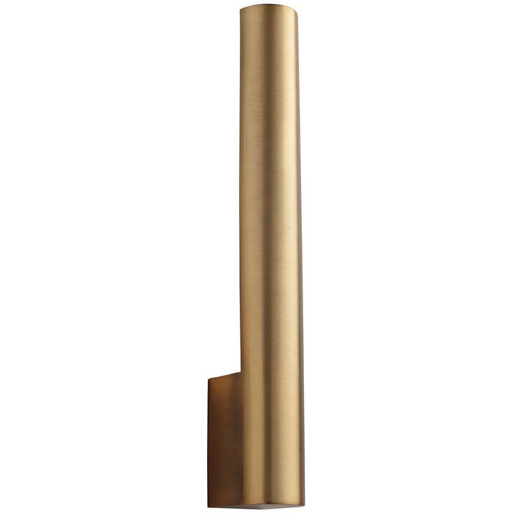 Cylindrical Back-Lit LED Sconce