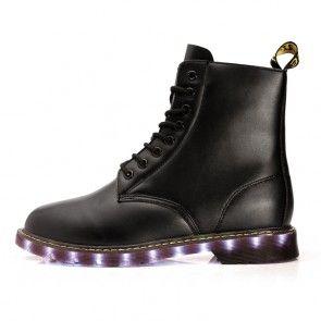 Lichtgevende Laarzen Britse Stijl Volwassenen
