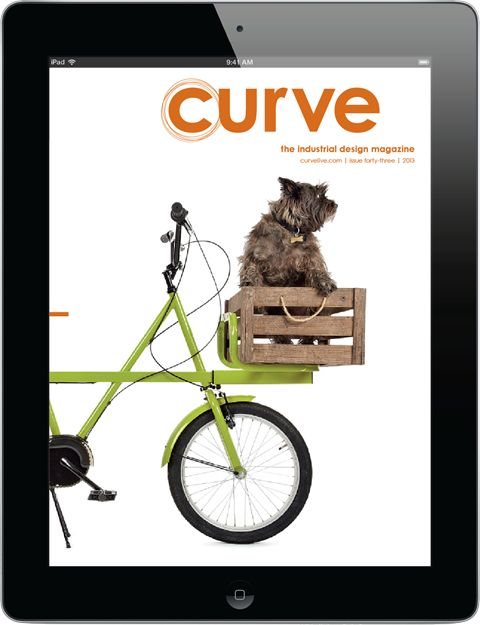 Curve for iPad | Issue Fourty Three | Industrial Design & Product Design Magazine | http://bit.ly/102zMPy