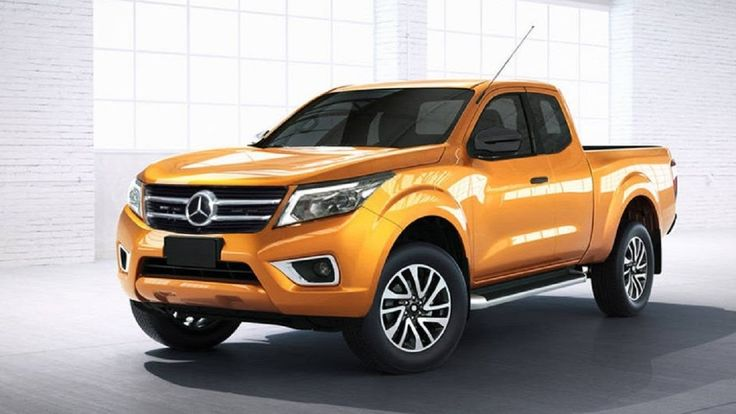 New Concept 2017 - Mercedes X-CLass Pickup- Excelent !!