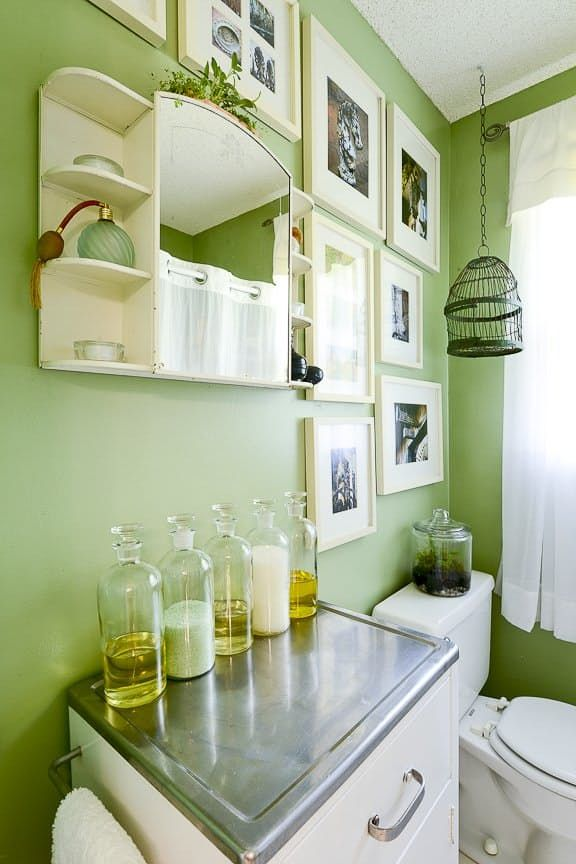 Today, Pantone announced that Greenery is their 2017 Color of the Year. While the bright, leafy hue is already incorporated into many a home via plants, you might be curious as to how it looks on walls, furniture, and decor. We used our Color Search tool to find examples of the vibrant shade in every room of the house.
