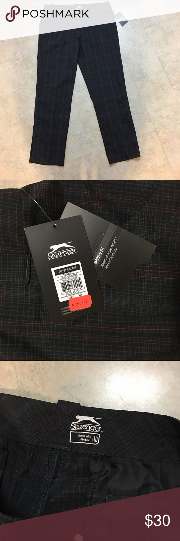 NWT Slazenger golf pants (women's) NWT lightweight golf pants. Bought on sale in the fall and no longer fit in them. Pants Trousers