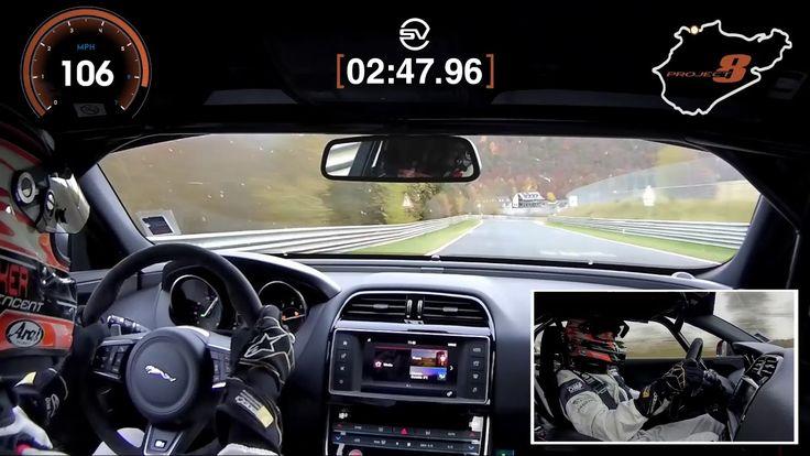 Jaguar XE SV Project 8 sætter ny verdensrekord på Nürburgring - http://bit.ly/2AkCPtU