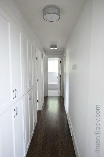 lighting ideas for hallways. new cabinet doors for the hallway u0026 light fixtures lighting ideas hallways a