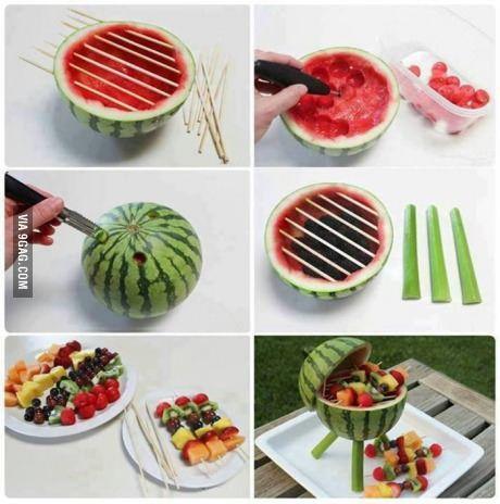 Watermeloen BBQ