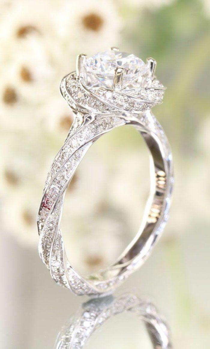 magnifique bague diamant