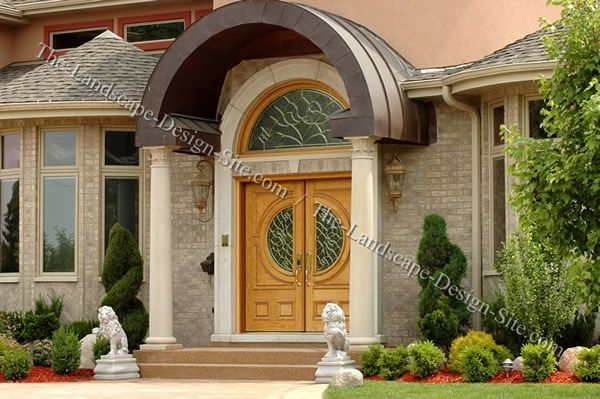 Luxury Home Entryway Landscaping Ideas Front Yard