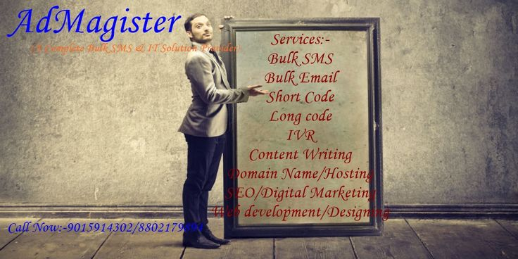 AdMagister Bulk SMS  Delhi India- We are the Fastest Growing Bulk SMS service provider in delhi,India.We offer best  Services of  Digital Marketing ,Web Hosting  ,SEO ,WEB Designing ,Application Development , bulk SMS ,Voice SMS,Bulk Email & short code solution. http://www.bulksmsdelhincr.com    http://admagisterbulksmsdelhi.blogspot.in/ https://plus.google.com/u/0/b/118420075266733074987/?pageId=118420075266733074987 https://www.youtube.com/watch?v=GBZiUzr5xqA https://www.youtube.com/wat