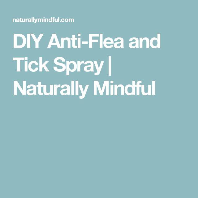 DIY Anti-Flea and Tick Spray | Naturally Mindful