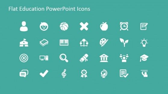 Professional Education PowerPoint Icons
