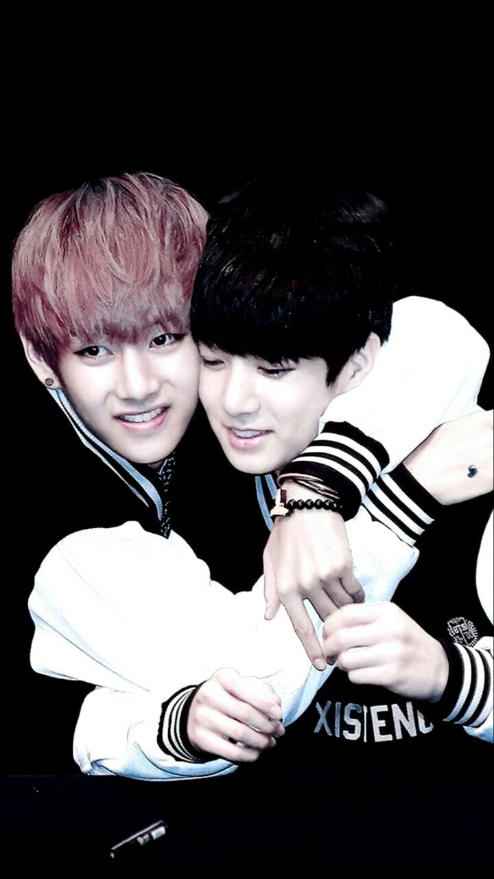 Vkook Cute Wallpaper V Amp Jungkook From Bts Vkook Taekook E Vmin