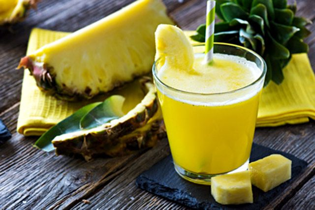 This pineapple lemon alkaline smoothie will help keep you at a healthy pH level, so your body can function the way it should.