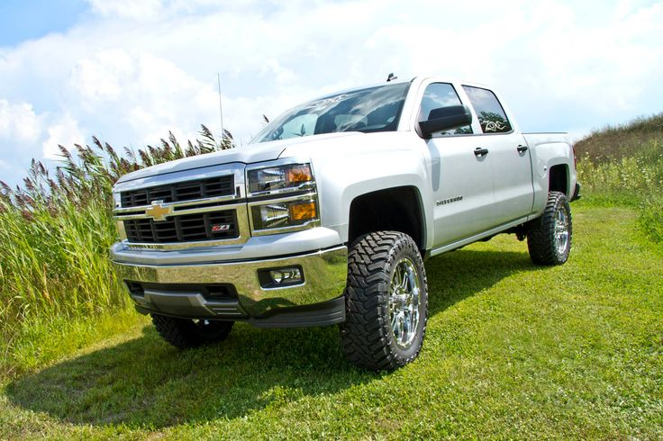 silver silverado lifted images - photo #15