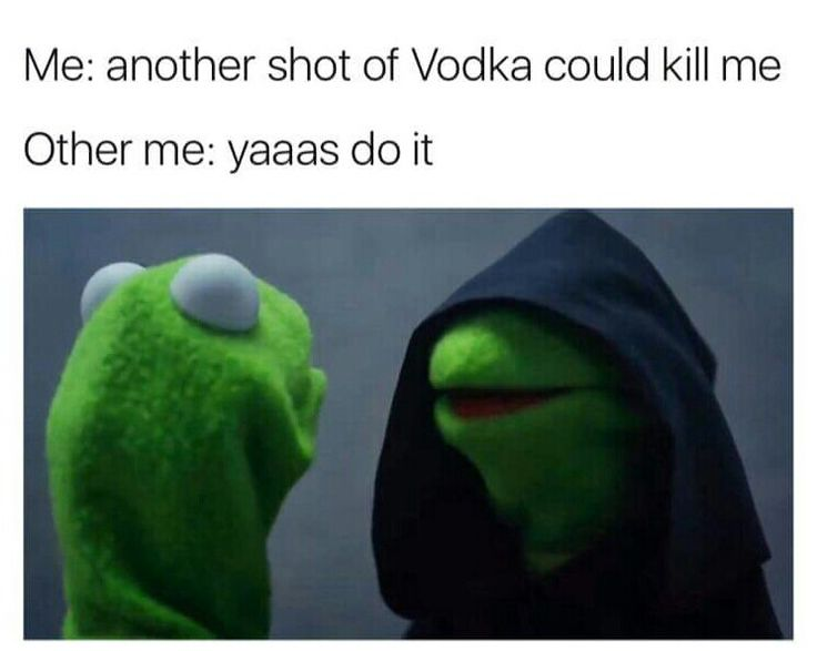 #EvilKermit #Vodka