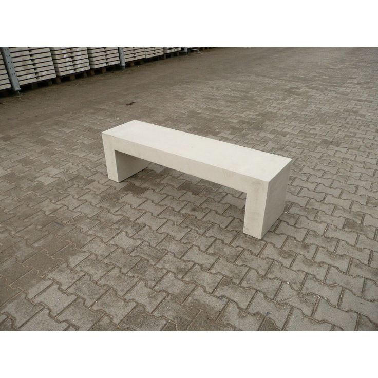 Betonnen bank 150 cm grijs | SierbetonOnline