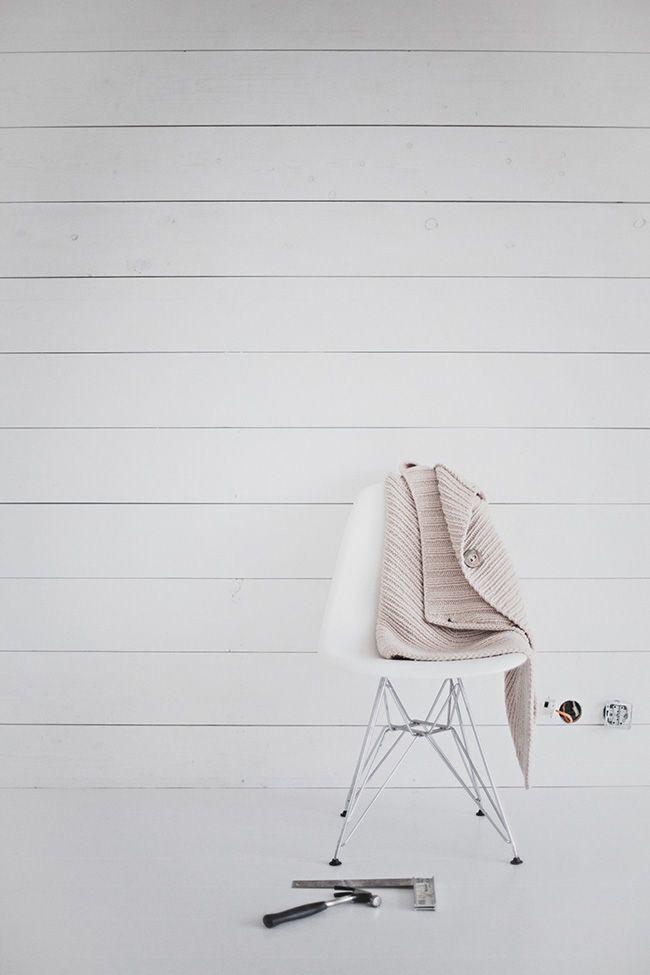 brädvägg | white