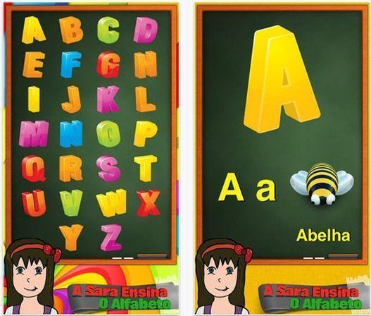 A Sara Ensina as letras do Alfabeto – 15 licenças para oferta