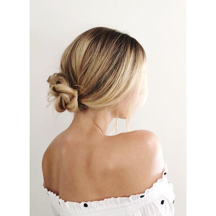 Braided chignon: classic  • • • #ictblogger #wichitahair #wichitablogger #hairbl…, #Hairstyles2019,'#fashionhair #hairstylist #longhair #hairs…