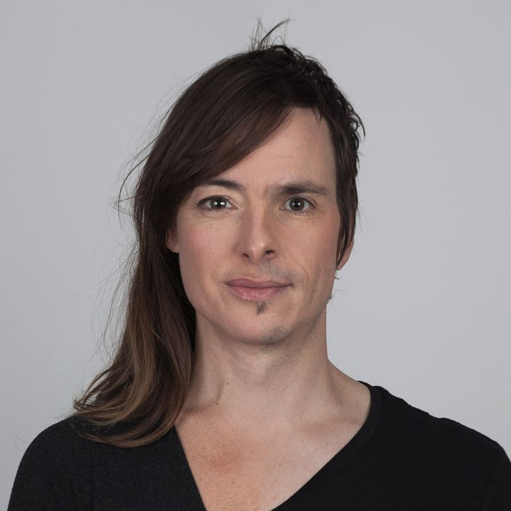 Ritratti genetici di Ulric Collette: Pascale e David fratello e sorella