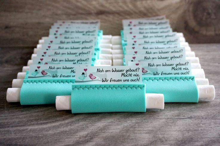 Süße Freudentränen Taschentücher aus Moosgummi…