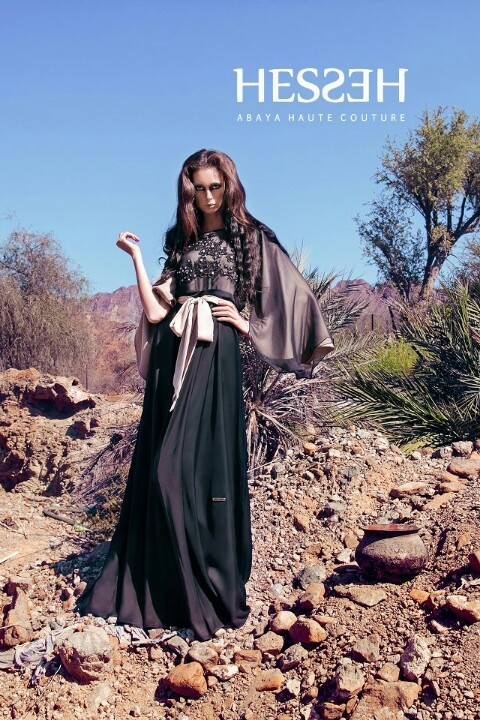www.hesseh.com, Hesseh, Abaya, bisht, kaftan, caftan, jalabiya, Muslim Dress, glamourous middle eastern attire