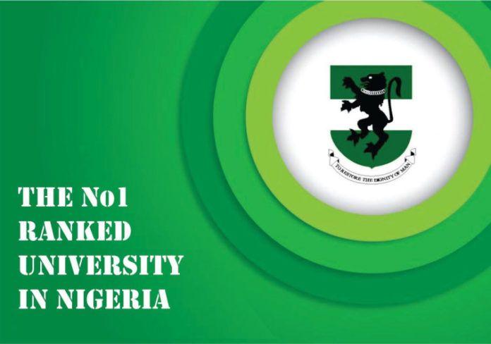 University Of Nigeria Nsukka Unn Ranks No One In Nigeria And 17