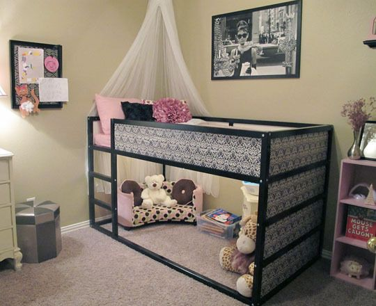 10 ways to customize IKEA's Kura Loft Bed (including castles, fire engines, play spaces)