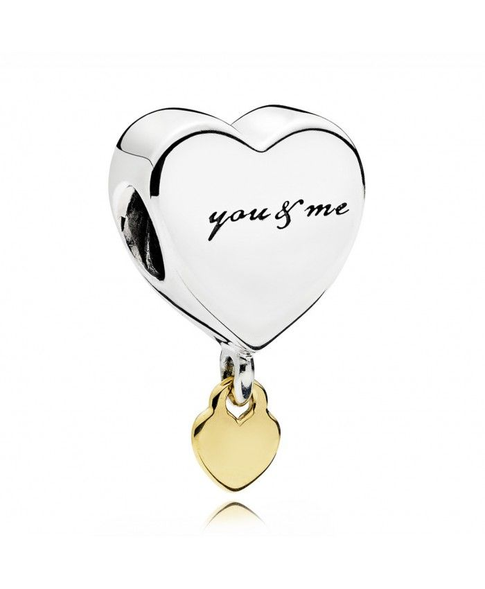 42e86c198 Pandora Two Hearts Dangle Charm 796558 UK Outlet,Nothing is impossible for  a willing heart.