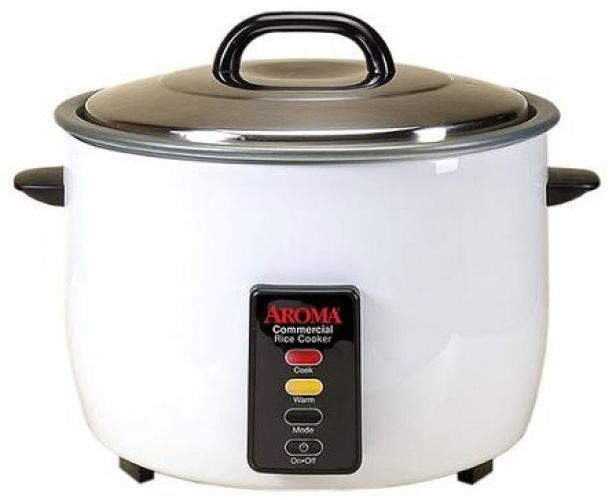 Aroma 60-Cup Automatic Stainless Steel Electric Commercial Grade Rice Cooker #Aroma