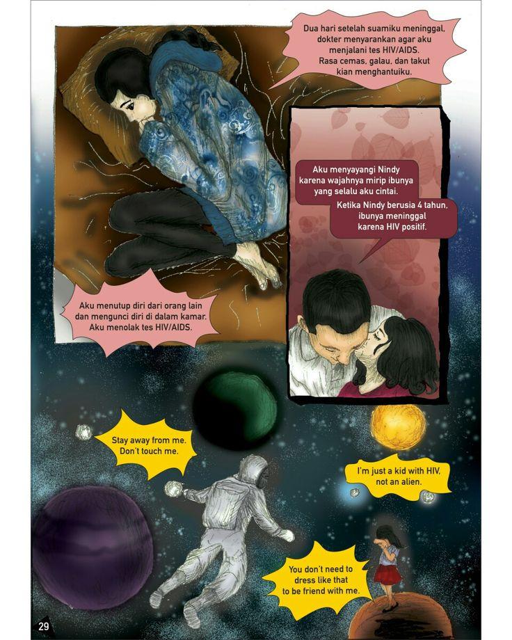 Halaman 29 buku komik Giving Empathy, oleh Ririn Yulianingsih Deg-degan 2 hari menjelang sidang TA