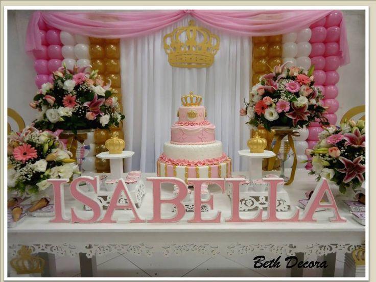 Decoração para festa Tema de Princesa Beth Decora whatsapp 98325-2545