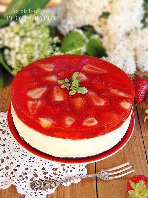 Ennek a csodás, könnyed, kellemesen hűsítő tortának a receptjét az FB-n találtam. Ott a torta barackkal volt kira...