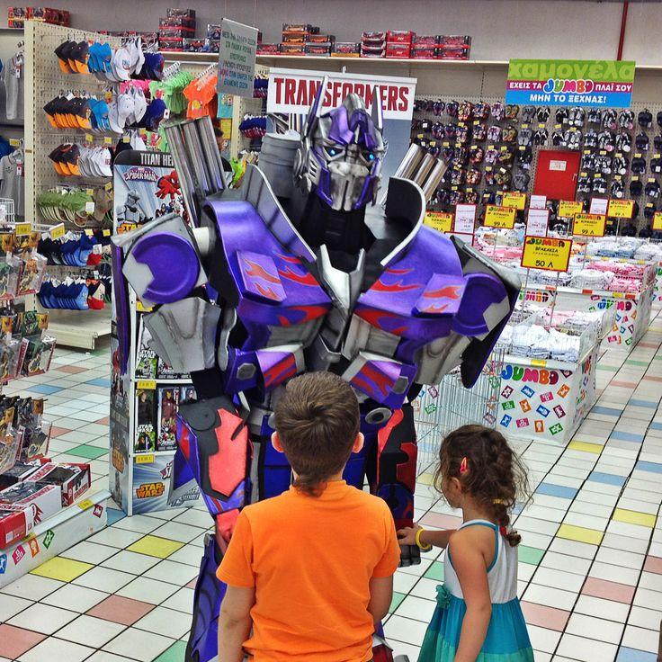 Mascot - Μασκότ / Στελέχωση προωθητικών ενεργειών σε καταστήματα.
