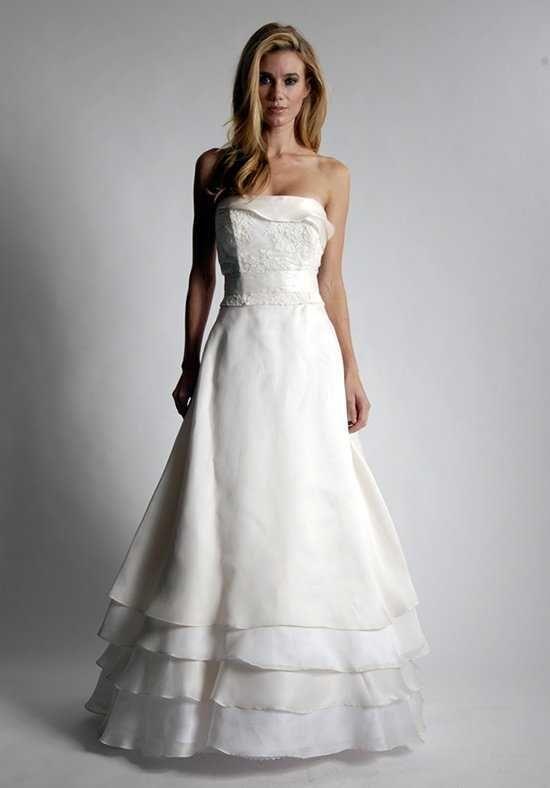 Elizabeth St. John Anjolie A-Line Wedding Dress