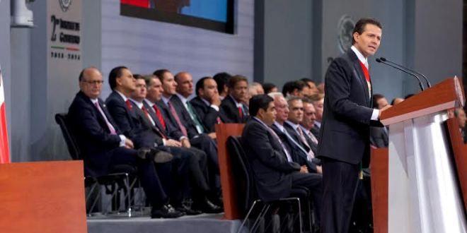Oaxaca Digital   Gabino Cué asiste al Segundo Informe del Presidente Enrique Peña Nieto