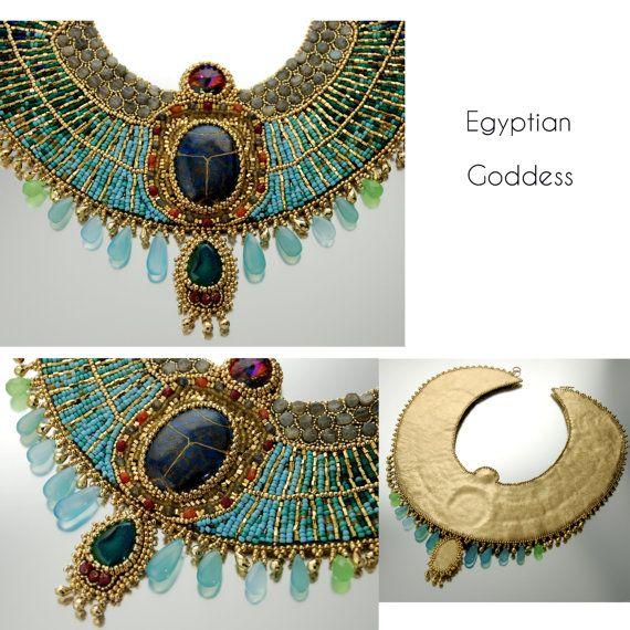 RISERVATA PROFILO dea egizia CUSTOM Made su di LuxVivensFashion