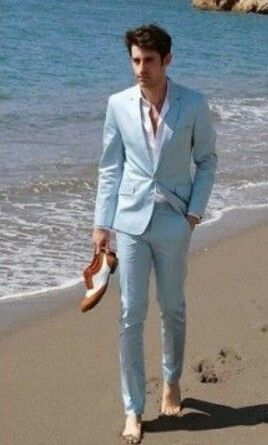 Beach Wedding Suit for groom