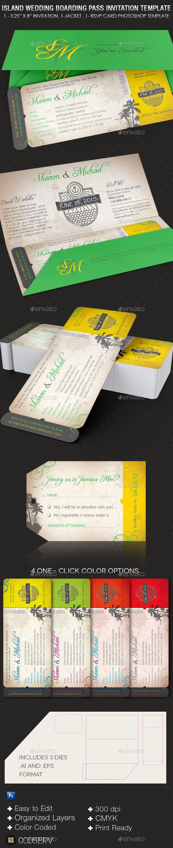 The Best Invitation And Event Programs Templates Images On - Photoshop wedding program template