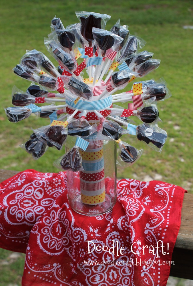 lollipop display for any party situation...what a great centerpiece!