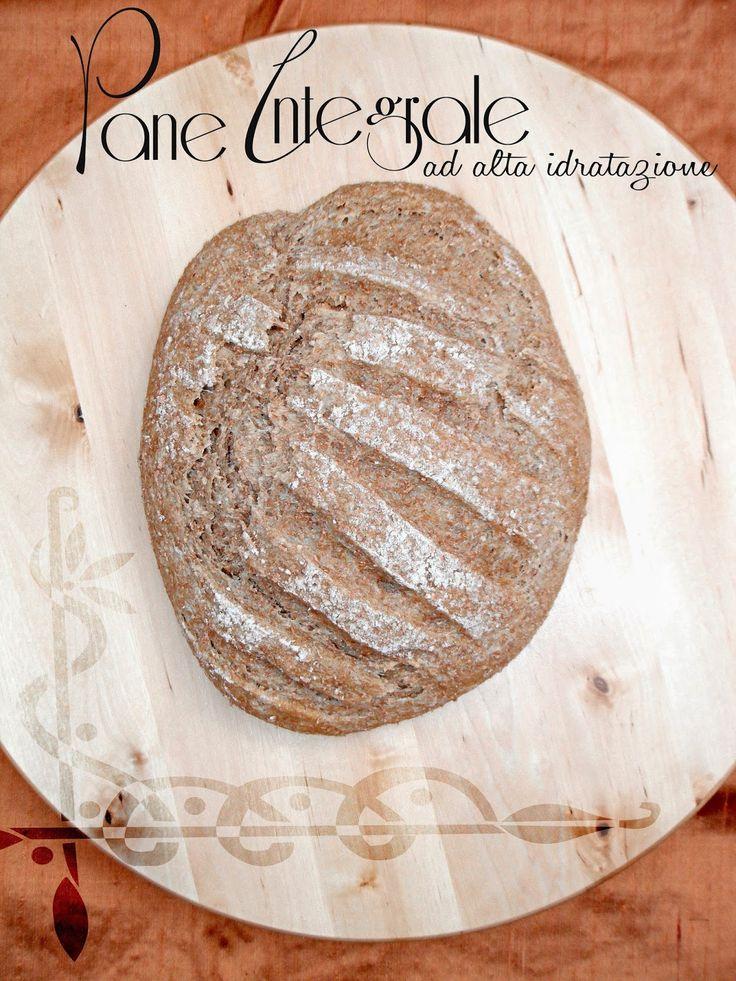 I biscotti della zia: Pane 100% integrale 80% idratazione