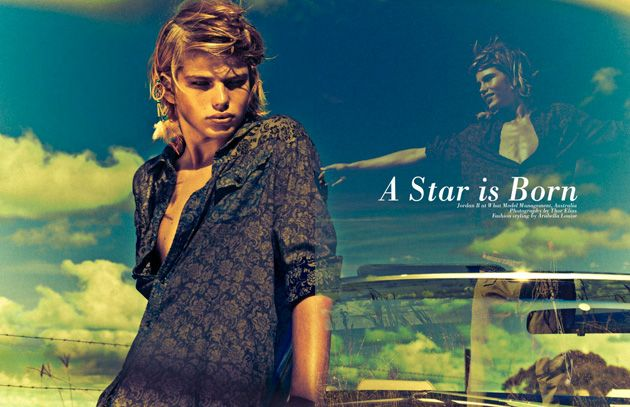 Name: Jordan Barrett.  Job: Model/Student.