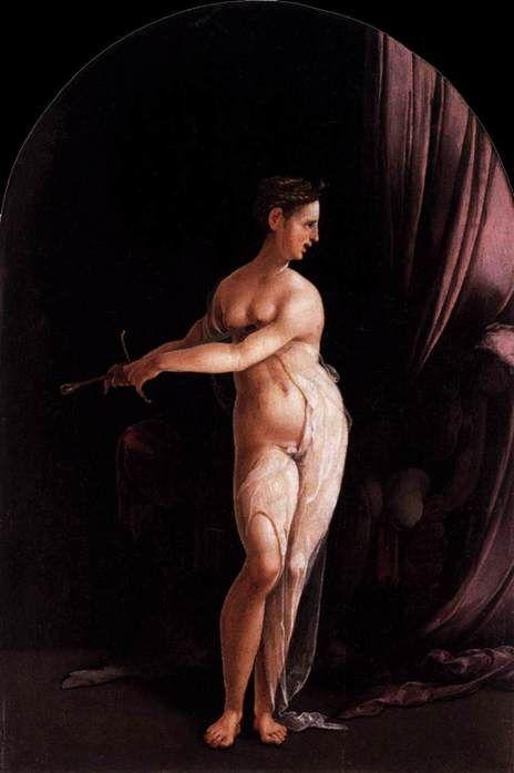 Ян ван Скорел (Jan van Scorel) (1495 - 1562) — Lucretia (ок. 1535, Staatliche Museen, Berlin)