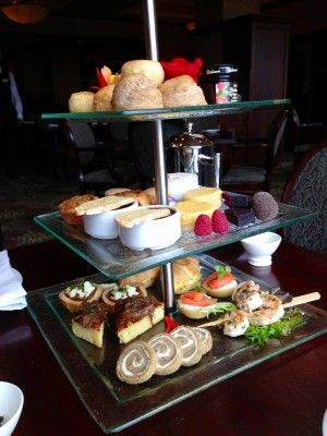 Hotel Grand Pacific, Victoria BC, Pacific Restaurant, West Coast Afternoon Tea