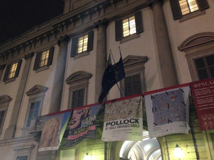 Mostra #JackonPollock e gli #Irascibili #PalazzoReale di #Milano