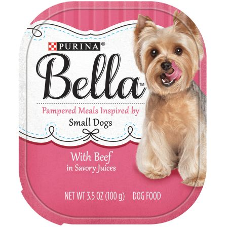 (11 Pack) Purina Bella With Beef in Savory Juices Adult